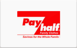 Sell Pay/Half Gift Card