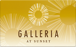 Sell Galleria at Sunset Gift Card