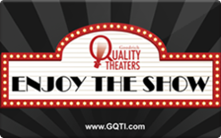 Buy Goodrich Quality Theaters (In Theater Only) Gift Card