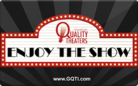 Buy Goodrich Quality Theaters Gift Card