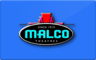 Buy Malco Theaters Gift Card