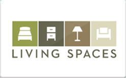 Sell Living Spaces Furniture Gift Card