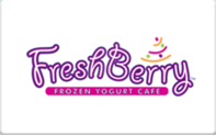 Buy FreshBerry Gift Card
