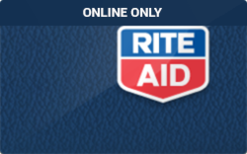 Sell Rite Aid (Online Only) Gift Card