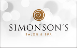 Sell Simonson's Salon and Spa Gift Card