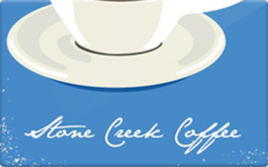 Sell Stone Creek Coffee Roasters Gift Card
