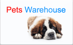 Sell Pets Warehouse Gift Card
