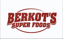 Sell Berkot's Super Foods Gift Card