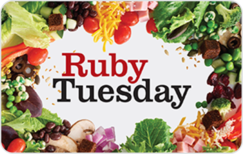 Sell Ruby Tuesday Gift Card