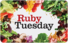 Buy Ruby Tuesday Gift Card