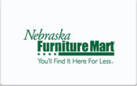 Buy Nebraska Furniture Mart Gift Card