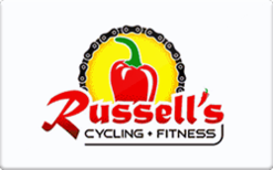 Sell Russell's Cycling and Fitness Center Gift Card