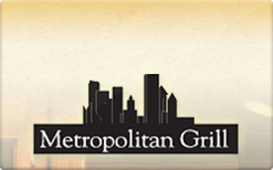 Sell Metropolitan Grill Gift Card