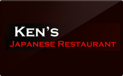 Sell Ken's Japanese Restaurant Gift Card