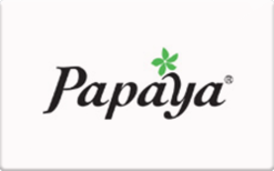 Papaya (In Store Only) Gift Card - Check Your Balance Online ...
