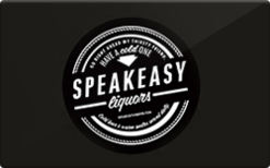 Sell Speakeasy Liquors Gift Card