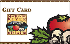 Sell MacKenzie River Pizza Gift Card