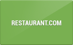 Sell Restaurant.com Gift Card