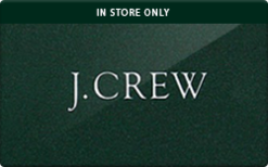 Sell J.Crew (In Store Only) Gift Card