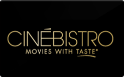 Buy CineBistro Gift Card