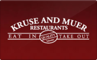 Buy Kruse & Muer Restaurants Gift Card