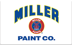 Buy Miller Paint Gift Card
