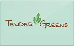 Buy Tender Greens Gift Card
