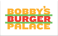 Sell Bobby's Burger Palace Gift Card