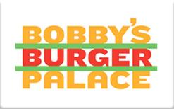 Buy Bobby's Burger Palace Gift Card