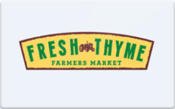 Sell Fresh Thyme Farmers Market Gift Card
