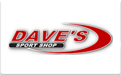 Sell Dave's Sport Shop Gift Card