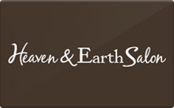 Sell Heaven and Earth Salon Gift Card