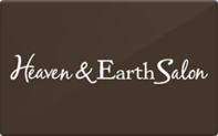 Buy Heaven and Earth Salon Gift Card