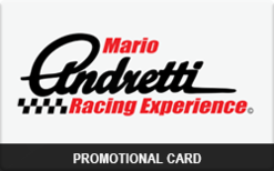 Sell Mario Andretti Racing Experience Promo Gift Card