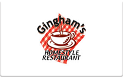 Sell Ginghams Restaurant Gift Card