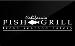 Sell California Fish Grill Gift Card