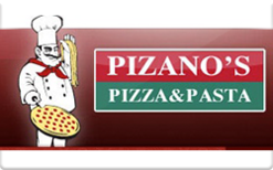 Sell Pizano's Pizza Gift Card