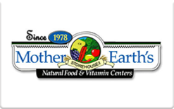 Buy Mother Earth's Storehouse Gift Card