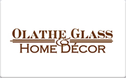 Sell Olathe Glass and Home Decor Gift Card