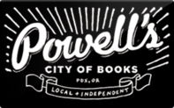 Buy Powell's Books Gift Card