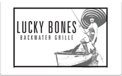 Sell Lucky Bones Backwater Grille Gift Card