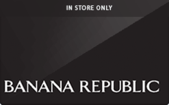 Buy Banana Republic (In Store Only) Gift Card
