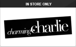Sell Charming Charlie (In Store Only) Gift Card