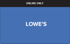 Lowe's (Electronic) Gift Card - Check Your Balance Online | Raise.com