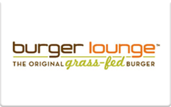 Buy Burger Lounge Gift Card