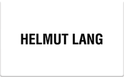 Sell Helmut Lang Gift Card