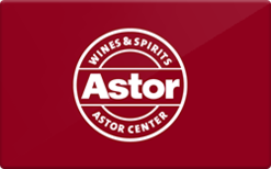 Sell Astor Wines Gift Card