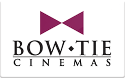 Sell Bow Tie Cinemas Gift Card