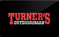 Sell Turner's Outdoorsman Gift Card