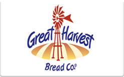 Sell Great Harvest Bread Gift Card
